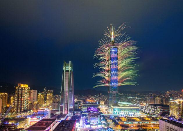 台北101跨年煙火
