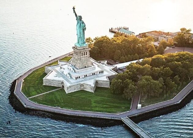 The Statue of of Liberty