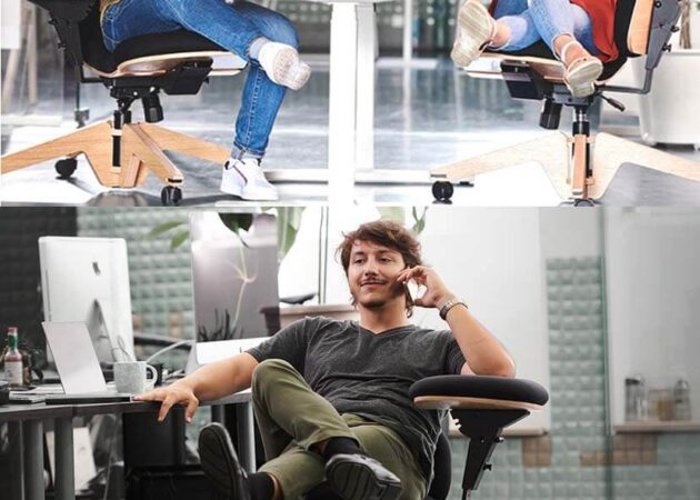 people setting on office chair