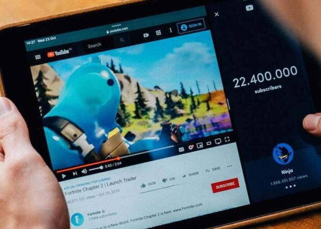 用平板看youtube